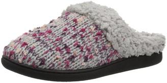 Dearfoams Women's Tweed Knit Clog Slipper