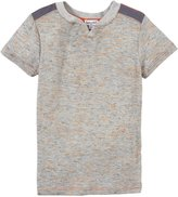 Splendid Textured Solid Tee (Toddler/Kid) - Grey Heather-7