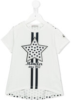 Moncler star print T-shirt - kids - Cotton/Elastodiene - 6 yrs