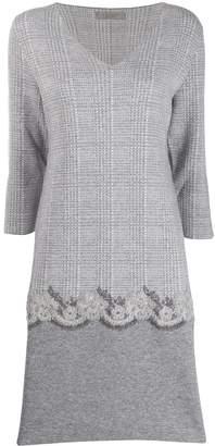 D-Exterior D.Exterior embroidered shift dress