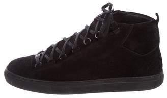 Balenciaga Arena Suede Sneakers
