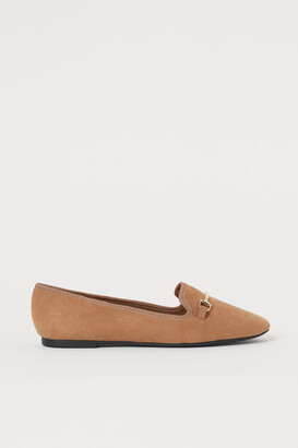 H&M Flats with Metal Buckle