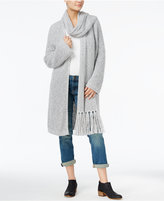 Tommy Hilfiger Miriam Fringe Scarf Cardigan, Only at Macy's