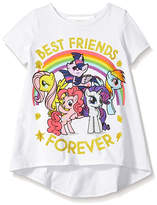 Freeze My Little Pony 'BFF' Back Bow Puff-Sleeve Tee - Toddler & Girls