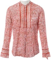 Lala Berlin Red Cotton Top for Women