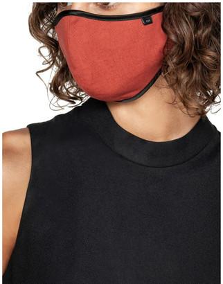 Cue Cotton Linen Face Mask