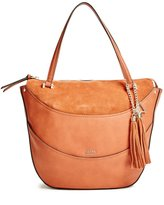 GUESS Solene Mixed Large Satchel