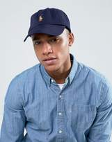 Polo Ralph Lauren Baseball Cap Multi Player In Navy