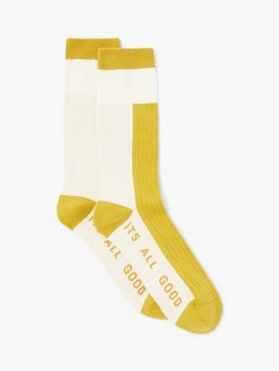 It's All Good Folk Colour Block Sports Socks