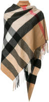 Burberry oversized check scarf
