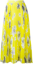 MSGM pleated maxi skirt - women - Polyester - 38