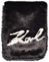 Karl Lagerfeld Holiday Fur scarf