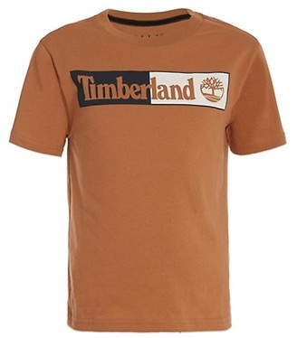 Timberland Boy's Half-N-Half T-Shirt