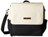 Petunia Pickle Bottom Glazed Color Block Boxy Backpack (Birch/Black) Backpack Bags