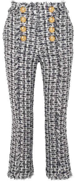 912d4c2fc198e Black Slim Bootcut Trousers - ShopStyle UK