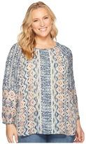 Nic+Zoe Plus Size Surfside Shirt Women's T Shirt