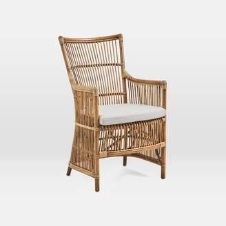 west elm Rattan Chair + Cushion