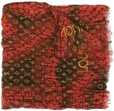 Louis Vuitton x Kusama Yayoi pre-owned monogram Waves Infinity scarf