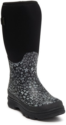 Western Chief Camoflorage Faux Fur Lined Waterproof Boot