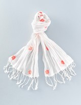 Boden Embroidered Scarf