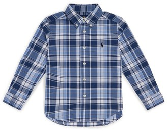 Ralph Lauren Kids Check Long-Sleeved Shirt (2-4 Years)