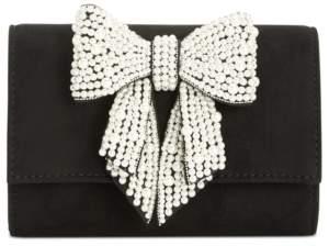 INC International Concepts Inc Maraa Pearl Bow Clutch, Created for Macy's