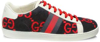 Gucci Corduroy GG New Ace Sneakers