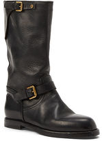 Ralph Lauren Macha Leather Engineer Boot