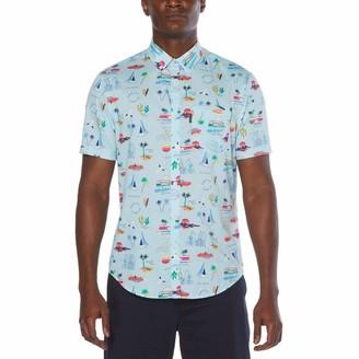 Original Penguin Tossed Theme Print Button-Down Shirt