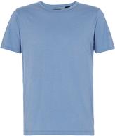 Oxford Sean Slub T-Shirt Blue X