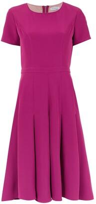 Olympiah pleated Salci dress