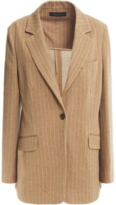 Rag & Bone Pinstriped Cotton Blazer