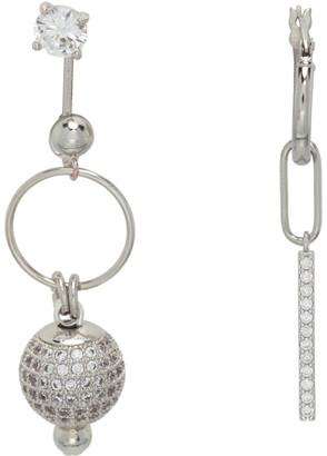 Mounser Silver Solar Flare Earrings