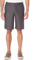 Perry Ellis Drawstring Linen Shorts