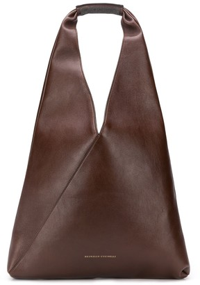 Brunello Cucinelli Oversized Hobo Tote