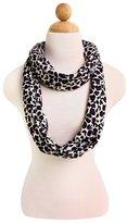 TrendsBlue Premium Leopard Animal Print Infinity Loop Scarf