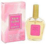 Coty Reve de Roses by for Women 1.0 oz Eau de Toilette Spray