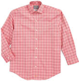 Thomas Dean Textured Check Dress Shirt (Big Boys)