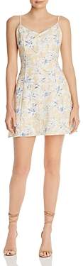 Lost And Wander Lost and Wander Luci Sleeveless Floral-Print Mini Dress