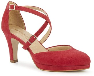 Walking Cradles Pammy (Red Suede) Women's Shoes