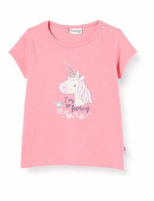 Salt&Pepper Salt & Pepper Baby Girls' Mit Einhorn Stickerei Und Glitzersteinen T-Shirt