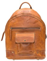 Will Leather Goods Men's 'Silas' Backpack - Brown