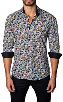 Jared Lang Mixed Graphic Cotton Sportshirt