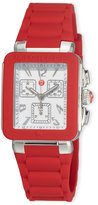 Michele Park Jelly Bean Watch, Red