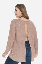 Fashion to Figure Grace Twist Back Marled Top