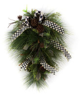 Mackenzie Childs MacKenzie-Childs - Underpinnings Vertical Hanging Wreath