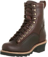 "Chippewa Men's 8"" Lace-to-Toe 73075 Logger Boot"