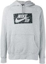 Nike printed hoodie - men - Cotton/Polyester - L