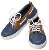 Crazy 8 Chambray Boat Shoes