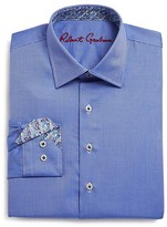 Robert Graham Boys' Joy Neat Texture Button-Down Shirt - Big Kid